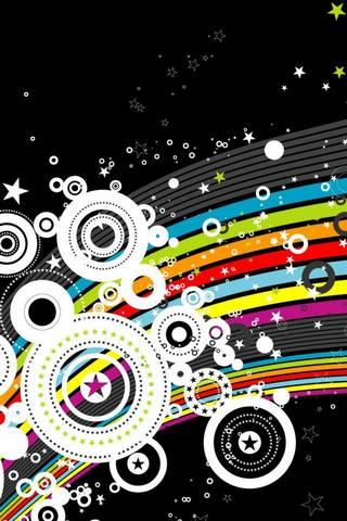 Starry Rainbow