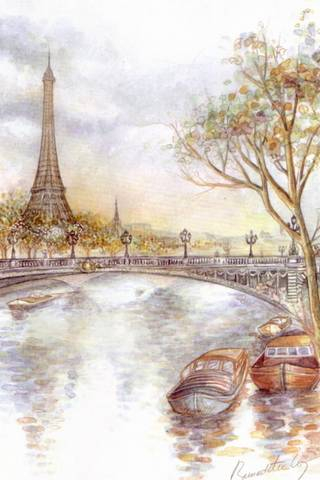 Paris Drawing