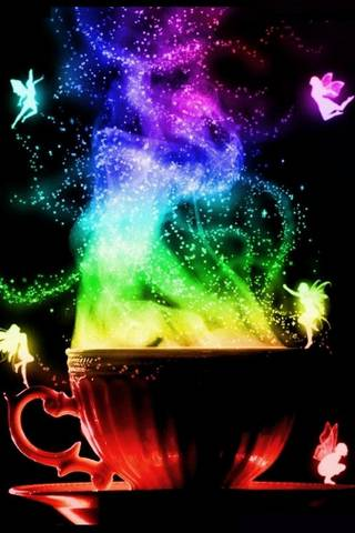 الشاي السحري