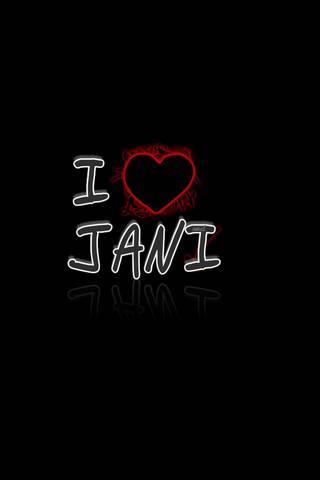 Eu amo Jani