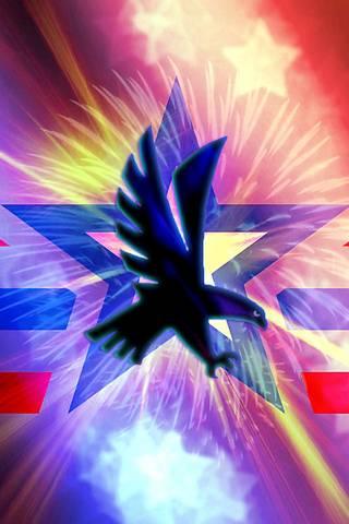 Eagle And Stars