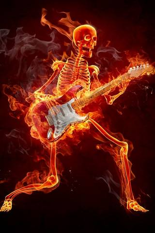FLAming GuitArist