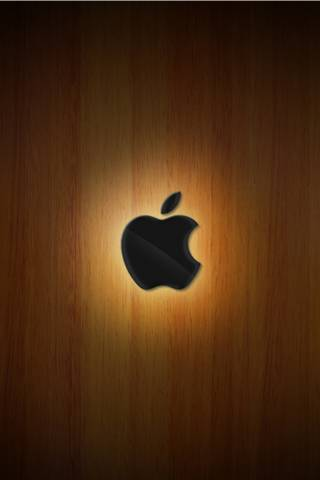 Apple kayu