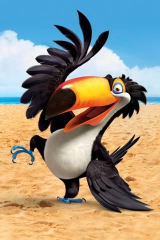Rio Beach Papagei