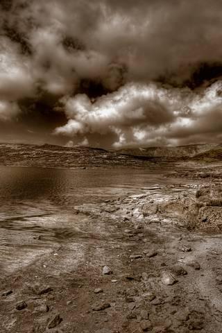 Sepia Scenery