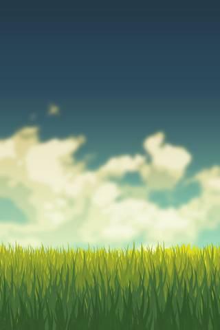 Gras* And Sky