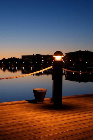 Nocny port