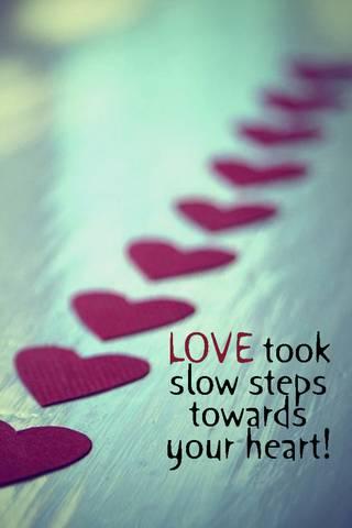 Love Took Slow