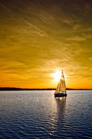Sailing Boat And A