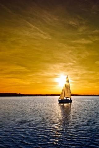 Вітрильний човен і А